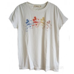 Mickey Ombré Signature Vintage T-shirt Destroyed