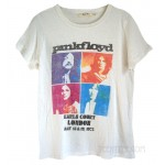 Pink Floyd Earls Court Classic Fitted Crew Destroyed T-shirt