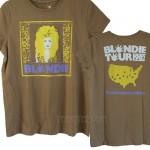 Blondie Tour 1982 Destroyed Finish Vintage Style T-shirt