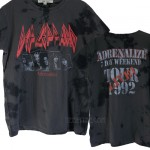 Def Leppard ADRENALINE Tie Dye Original Vintage T-shirt