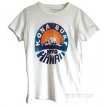Kona Surf 1979 Hawaii Tri-Blend Destroyed Destination T-shirt