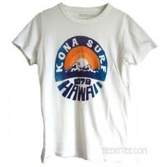 Kona Surf 1979 Hawaii Tri-Blend Destroyed Destination T-shirt