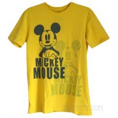 Mickey Overlay Destroyed Finish Unisex Vintage Style T-shirt