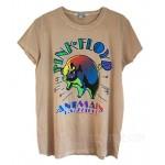 Pink Floyd Animals Glitter Destroyed Finish Retro T-shirt