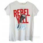 Billy Idol Rebel Yell Puff Print Vintage Style T-shirt