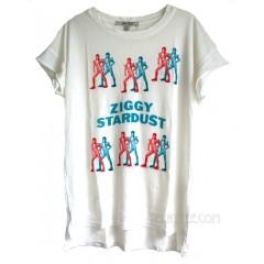 David Bowie Ziggy Stardust Easy Tissue T-shirt