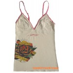 Ed Hardy Lace Camisole Dedicated