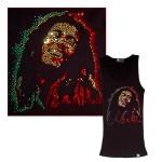 Bob Marley Stone Beater Nailhead Studs