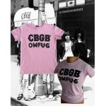 CBGB Flocking Logo PINK