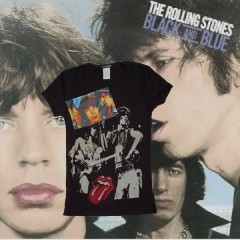 Rolling Stones Glam Patch Black & Blue