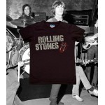 Rolling Stones Silver Studs & Rhinestones