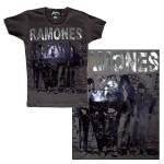 Ramones Glam Metal Foil Print