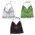 La Bohem Cami Embroidery and Beads