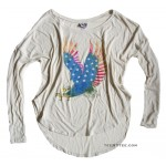 USA Eagle Young Rebel Long Sleeve T