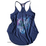 Neon Tiger Night Rebel Tank