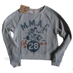 Mickey Mouse American Football Club Cropped Sweat T