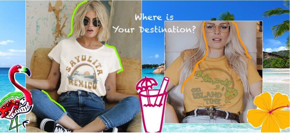Junk Food Destination T-shirt