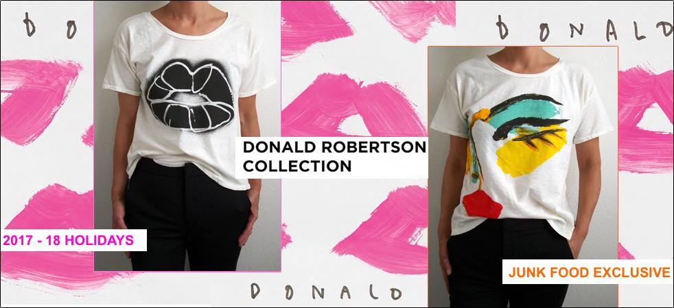 Donald Robertson T-shirt