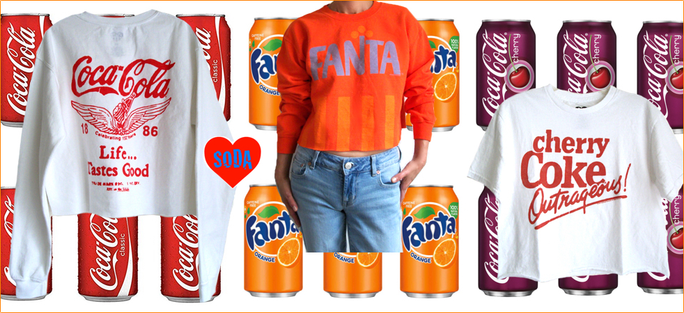 Junk Food SODA collection