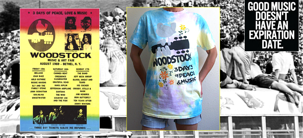Junk Food Woodstock Tie Dye T-shirt