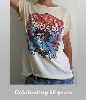 Grateful Dead World tour 1989 t-shirt for women