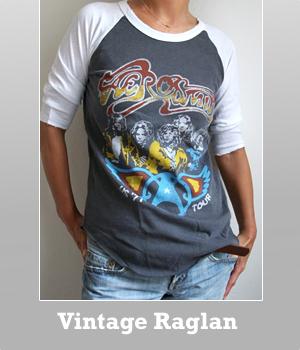 Aerosmith Original Vintage Raglan t-shirt for women