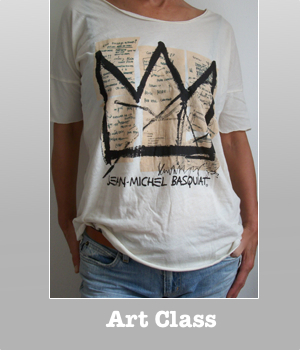 Jean Michel Basquiat KING Crown t-shirt