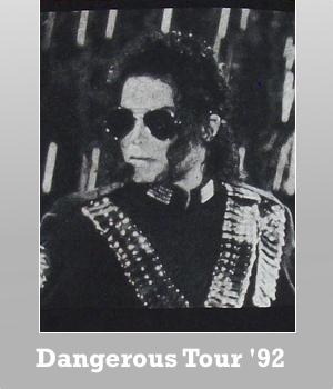 Junk Food Michael Jackson Dangerous Tour 1992 t-shirt for Men