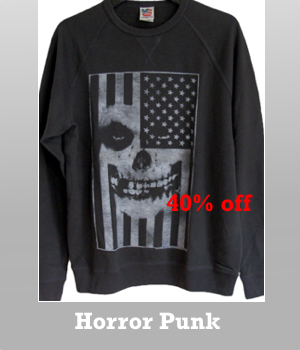 Junk Food The Misfits USA soft fleece t-shirt is 40% off.
