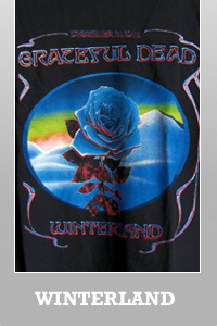 Junk Food Grateful Dead Winterland Rose t-shirt for Men